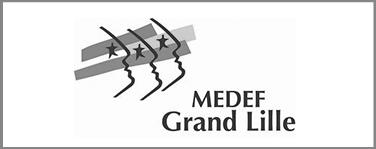 Medef Grand Lille logo référence La Freeterie